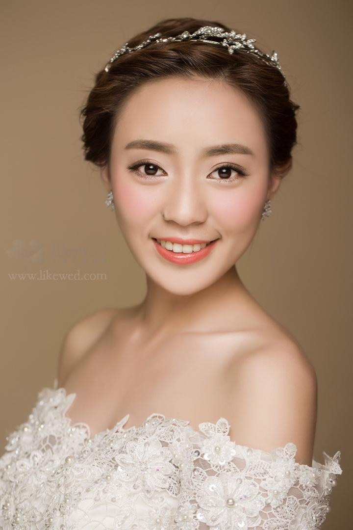 简约韩式新娘发型分享展示图片
