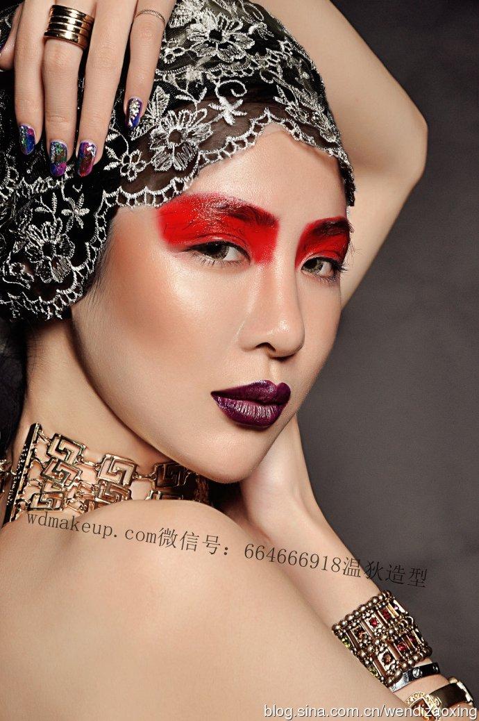 时尚创意彩妆化妆造型