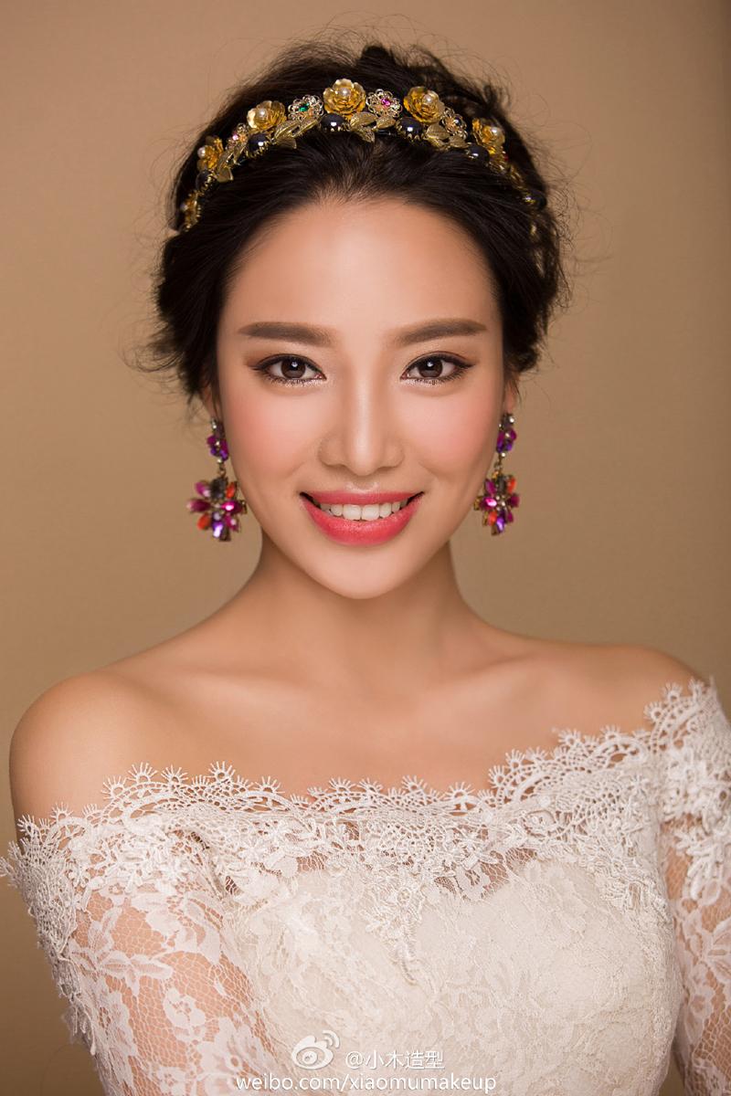 精致新娘妆 化妆造型