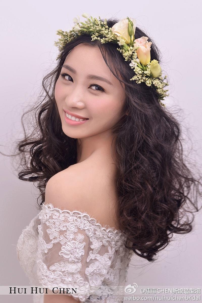 甜美浪漫新娘妆(全)_化妆造型_黑光图库_黑光网图片
