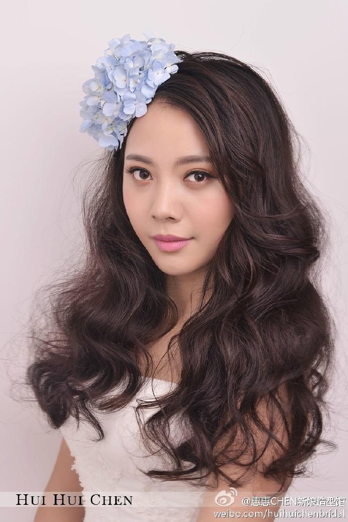 甜美浪漫新娘妆化妆造型图片