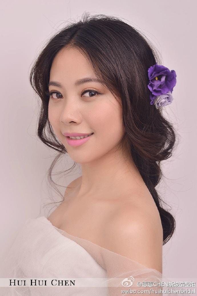 甜美浪漫新娘妆(6)_化妆造型_黑光图库_黑光网图片