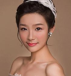 甜美可爱新娘妆 化妆造型图片