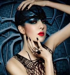创意彩妆大片 化妆造型图片
