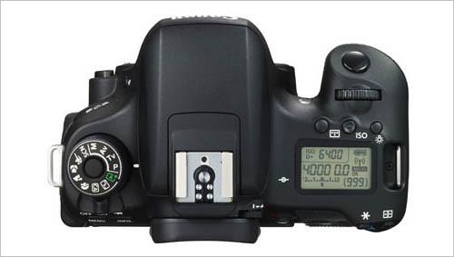 佳能EOS 760D产品照
