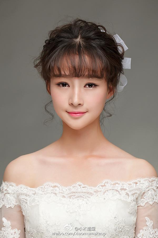 可爱甜美妆容 化妆造型