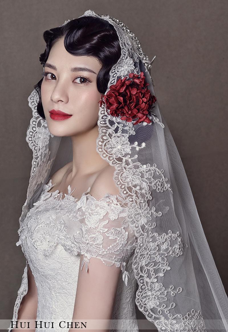 精致新娘妆容 化妆造型