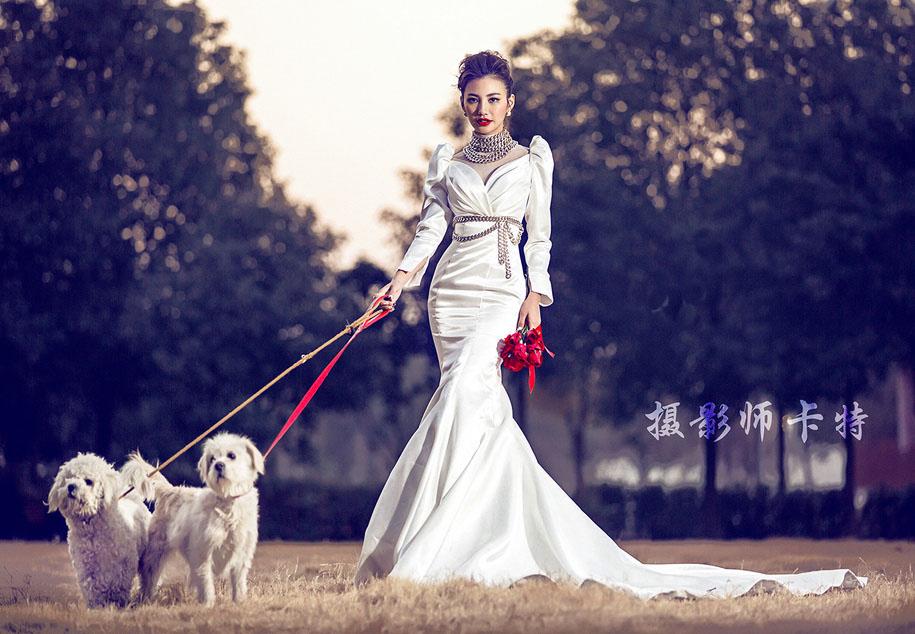 时尚爱情 婚纱照