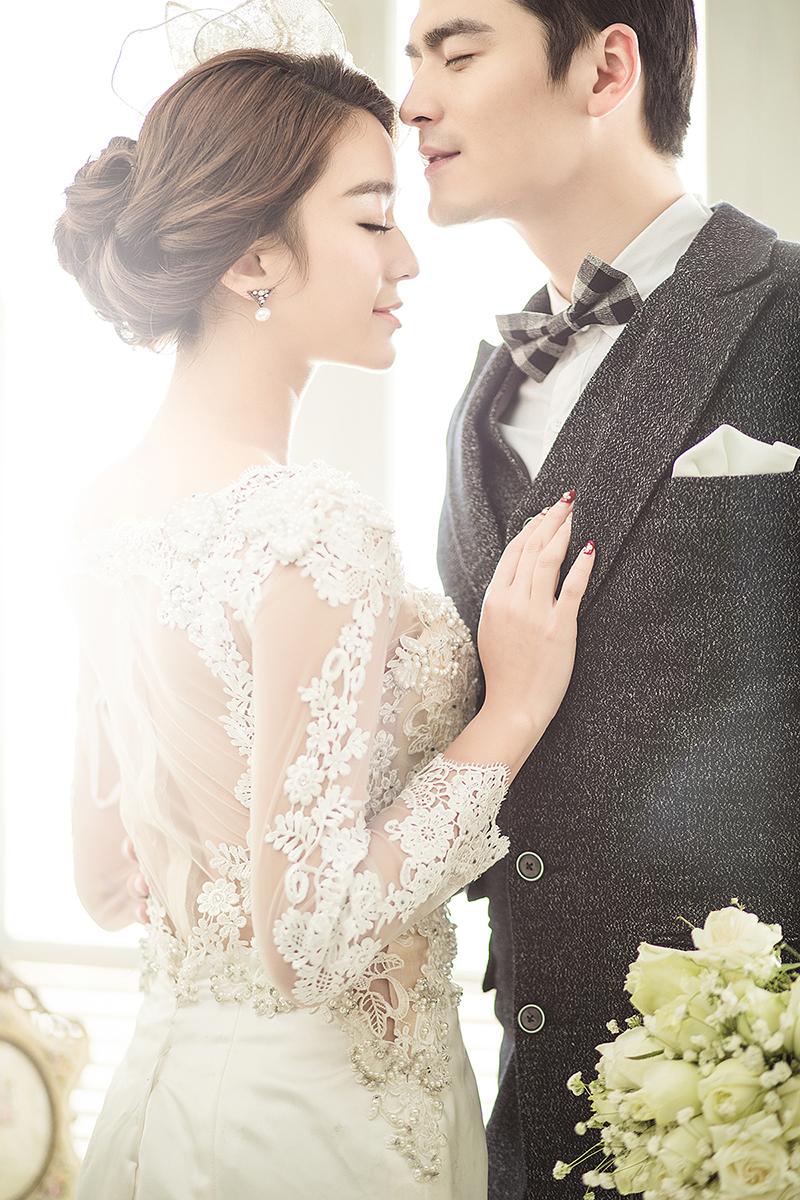 韩爱 婚纱照