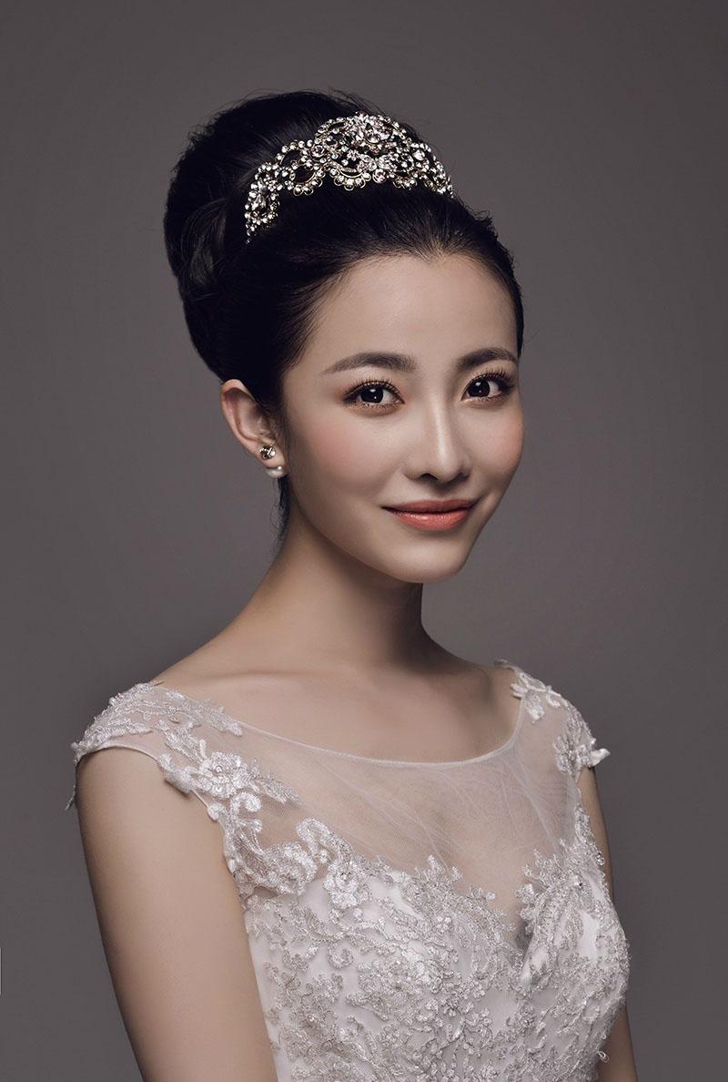优雅新娘造型 化妆造型图片
