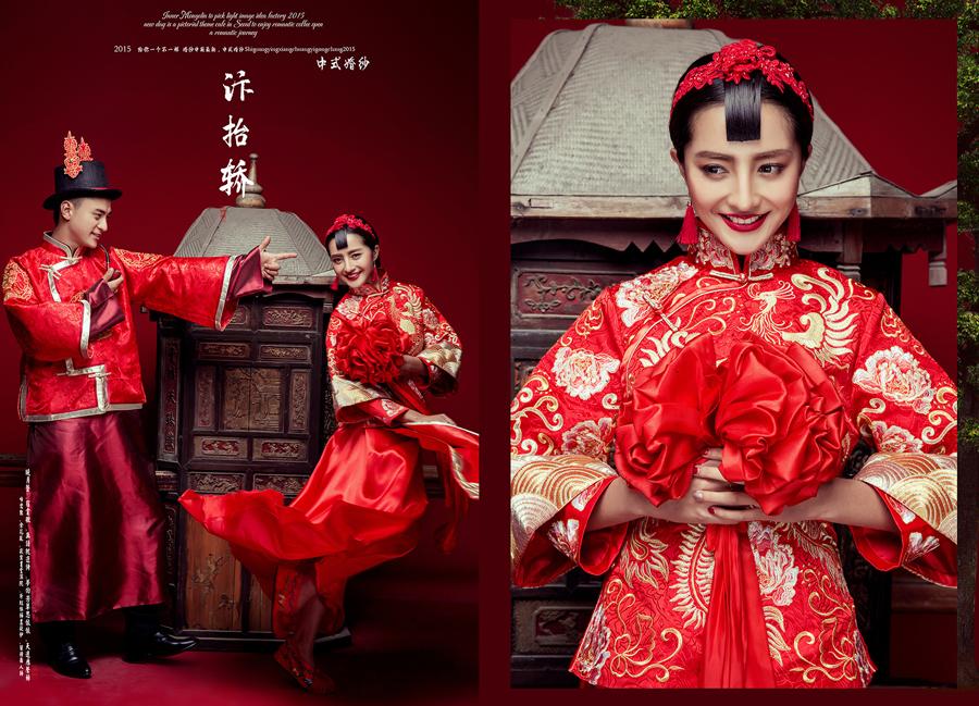 中式婚礼(7)_婚纱摄影_黑光图库_黑光网