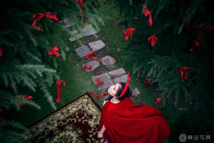 红帽(3)_写真摄影_黑光图库_黑光网图片
