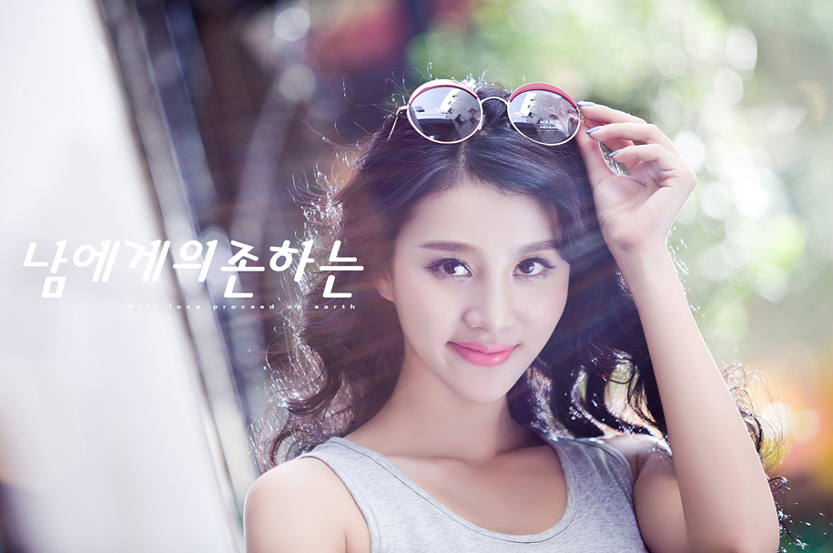 韩风小清新(全)_写真摄影_黑光图库_黑光网