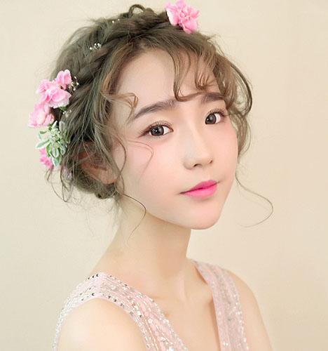 影楼化妆造型,新娘化妆造型_化妆造型(4)_黑光图库