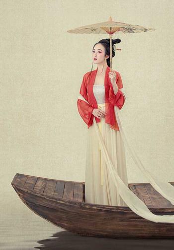 古装中国风写真正流行