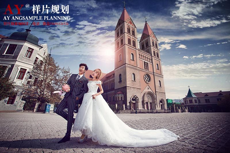 天主教堂 婚纱照