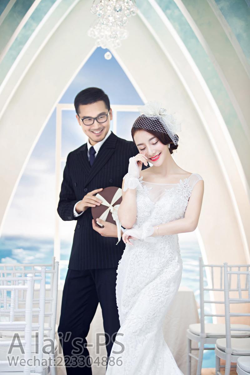教堂婚礼 婚纱照