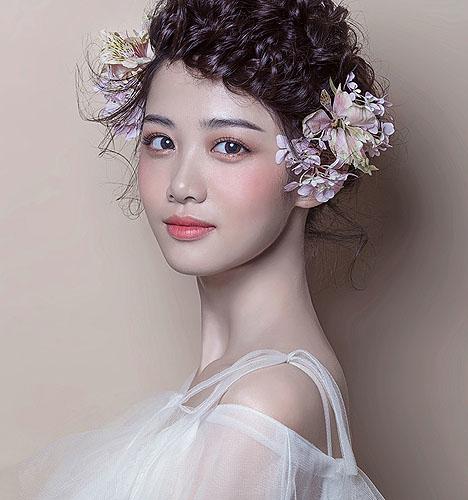 造型-波西米亚复古新娘图片