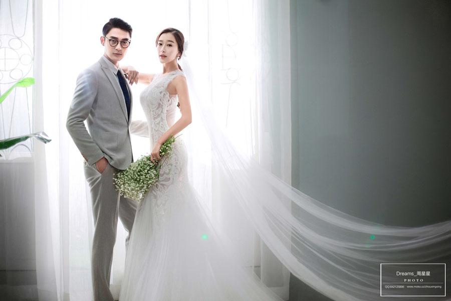 韩式 婚纱照