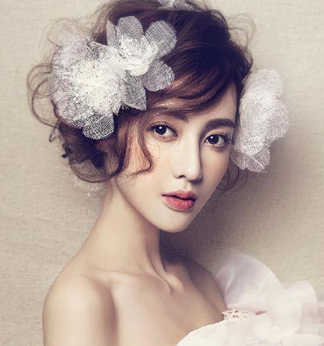精致新娘造型 化妆造型