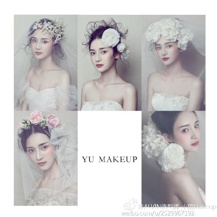 白纱新娘造型图片