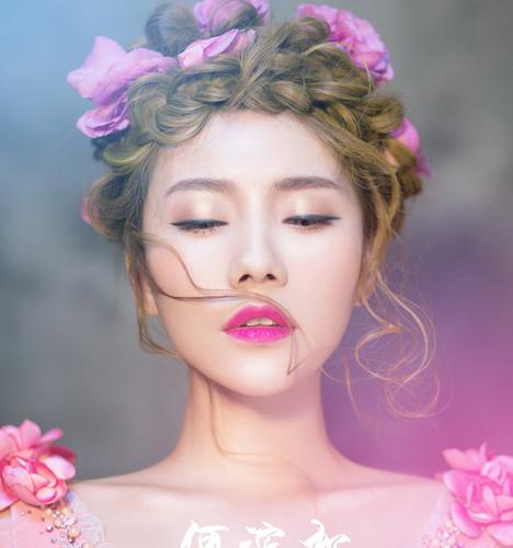 鲜花新娘造型化妆造型图片