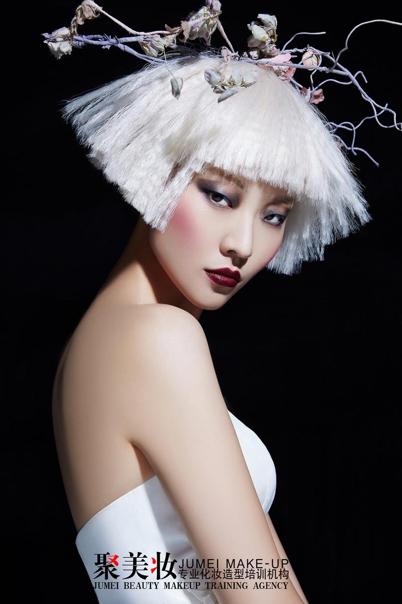 创意新娘妆_化妆造型_黑光图库_黑光网图片