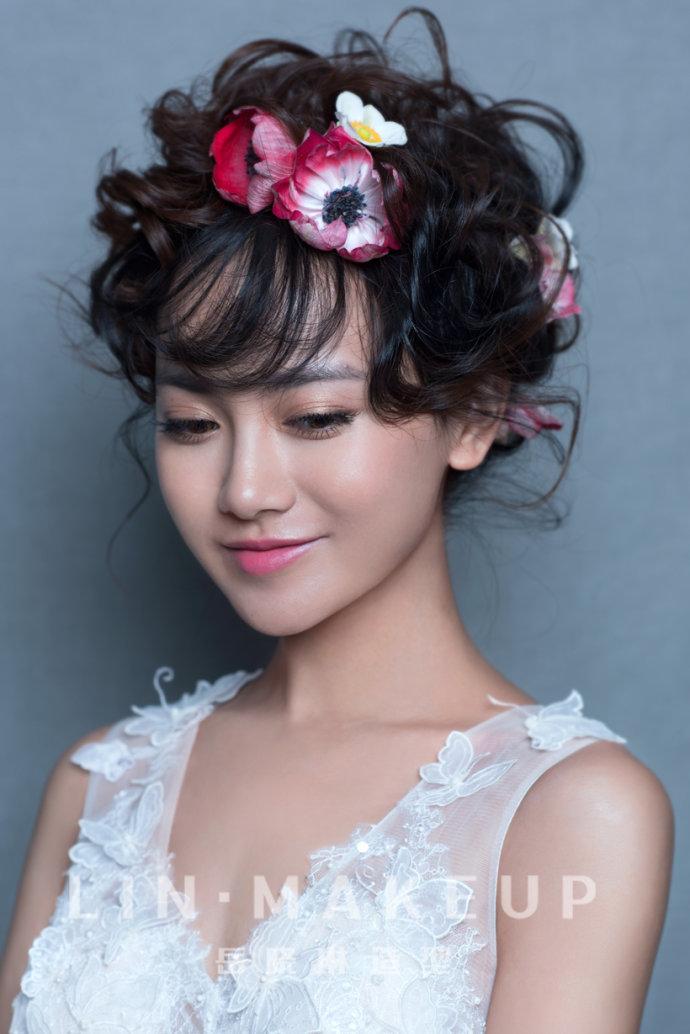 时尚新娘-鲜花田园风格造型