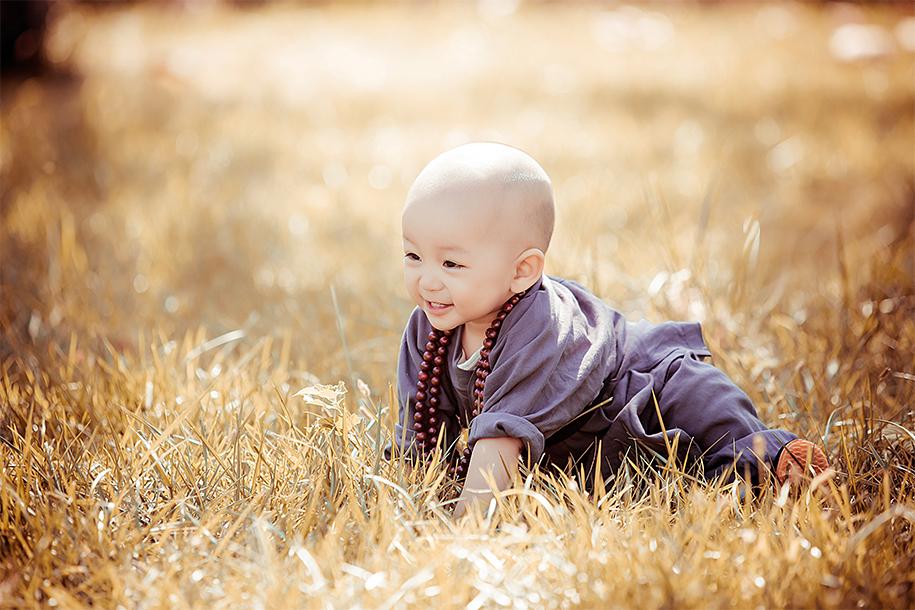 乌龙院的小和尚 儿童摄影