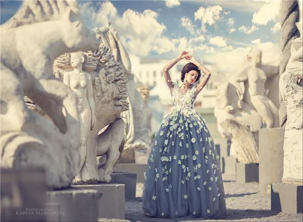 摄影师巧加动物元素 打造童话般的梦幻