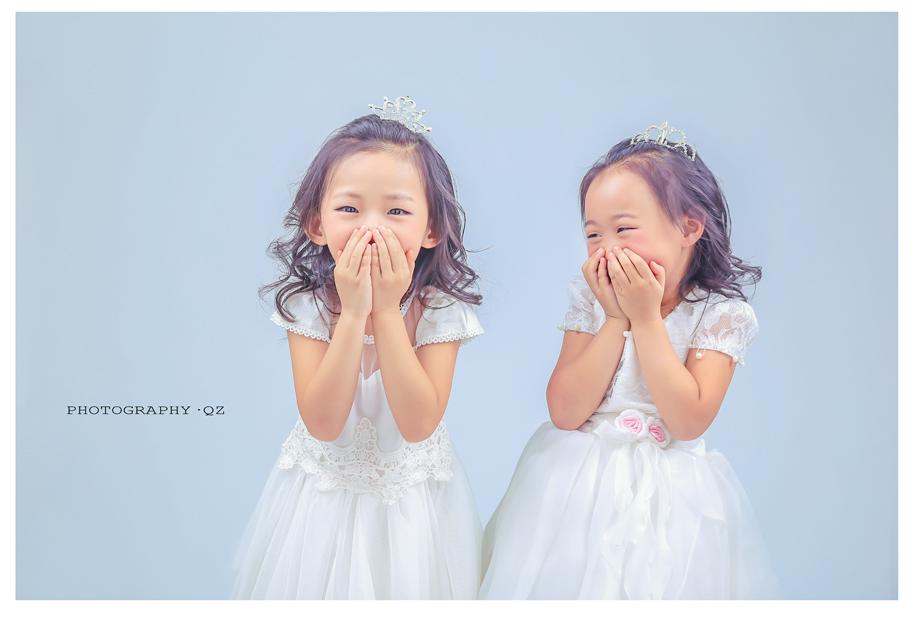 姐妹头像两张配一对可爱小孩