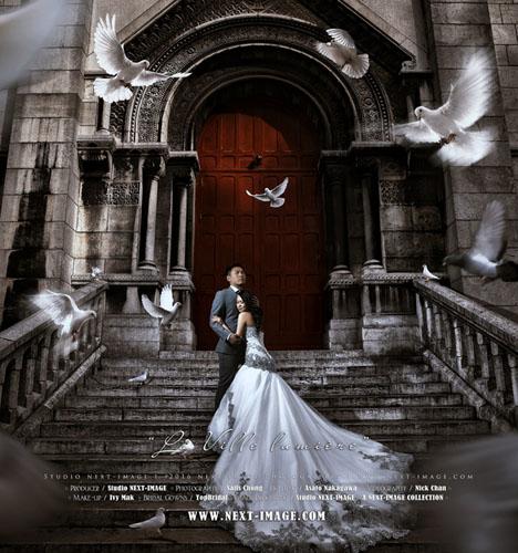 巴黎旅拍 婚礼摄影