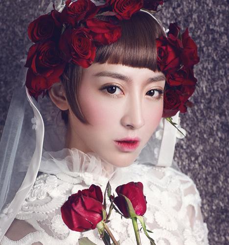 创意新娘妆图片