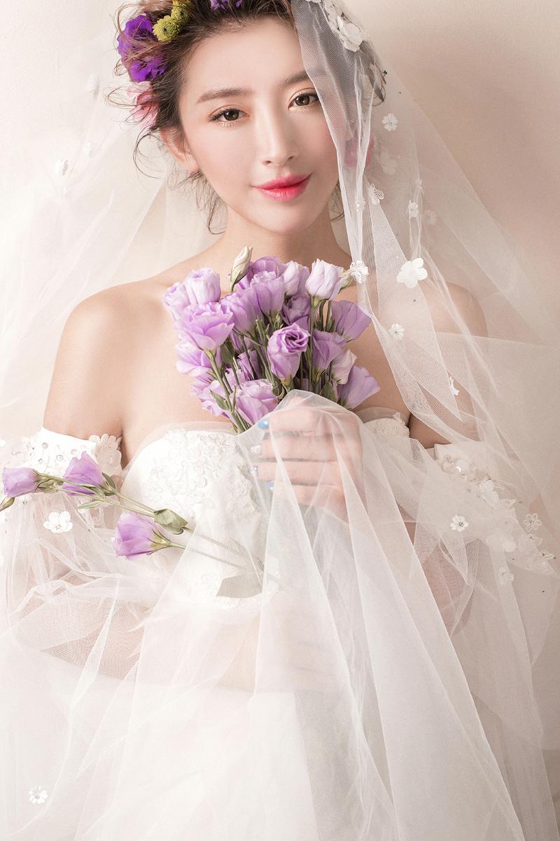 创意新娘妆 化妆造型