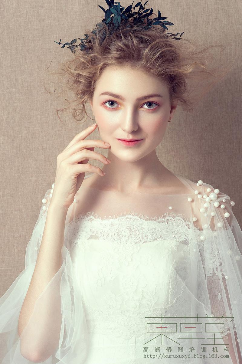 甜美新娘妆容 化妆造型