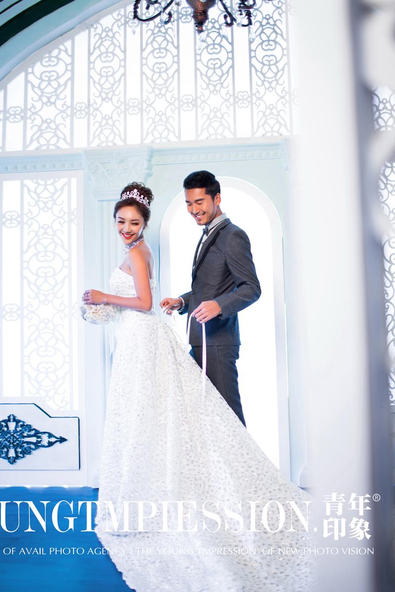 简欧室内 婚纱照