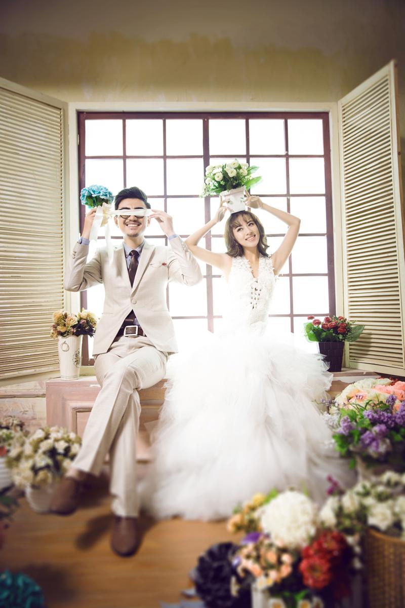 室內韓 婚紗照