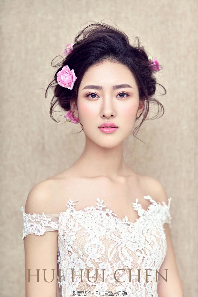 高贵典雅新娘造型