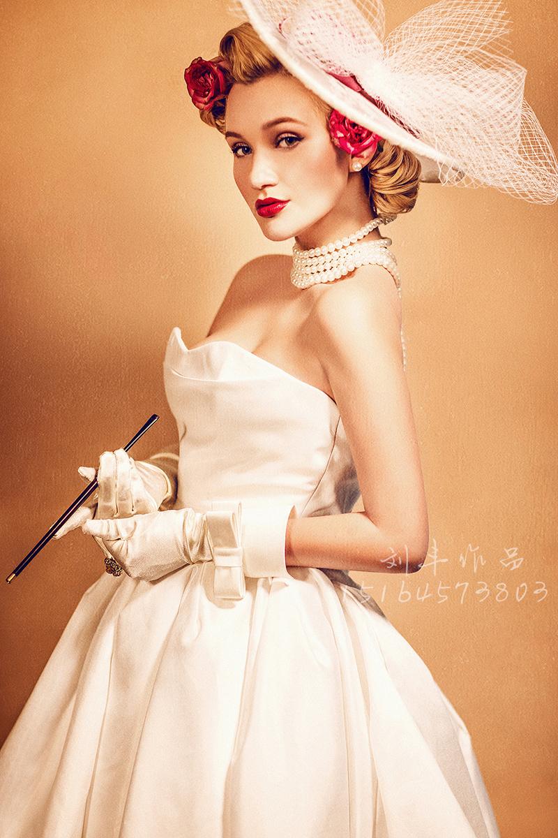 复古风 婚纱照