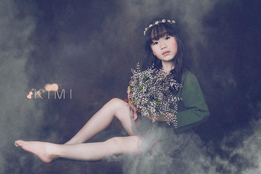梦幻少女 儿童摄影