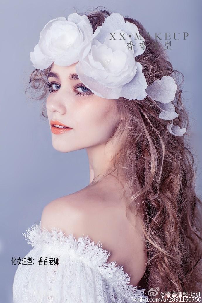 清新新娘造型 化妆造型