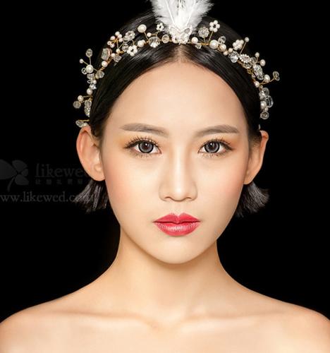 欧式轻奢复古风 化妆造型图片