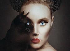 最新影樓資訊新聞-攝影師自拍 與動物共享一只眼睛
