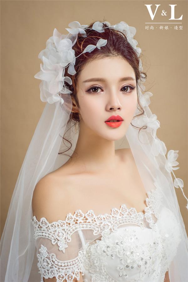 优雅的新娘造型欣赏