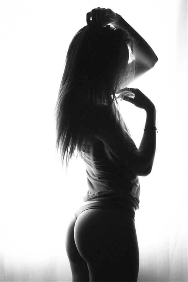 黑白人像性感艺术写真