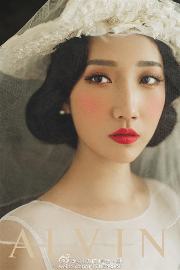 油画风格新娘造型欣赏(2)