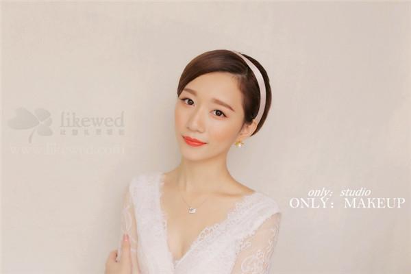 短发新娘的造型欣赏(4)