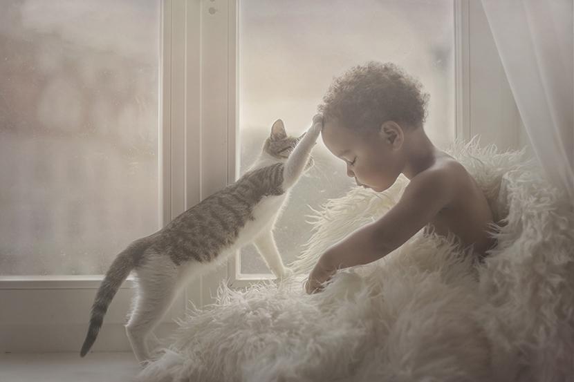 动物与小孩主题摄影大赛