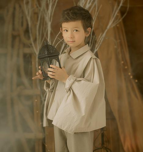 混血男孩 儿童摄影