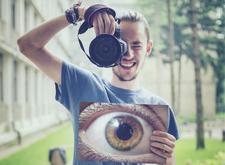 """最新影樓資訊新聞-眼睛的""""肖像照"""" 特立獨行的大眼人像攝影作品"""